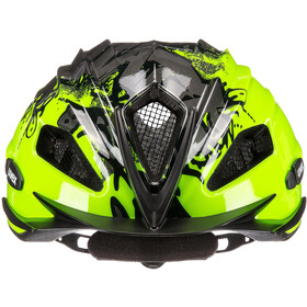 UVEX Quatro Helmet Kinder neon yellow/black